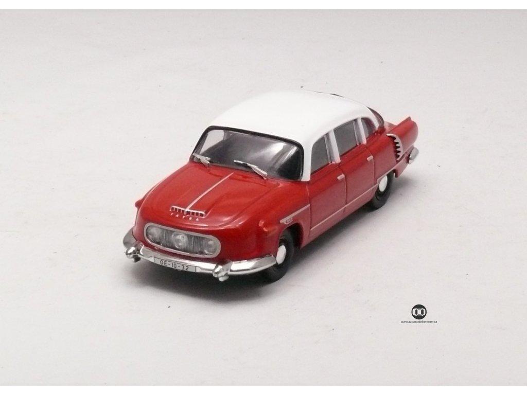 Tatra 603-1 1956 červeno-bílá 1:43 Car Selection