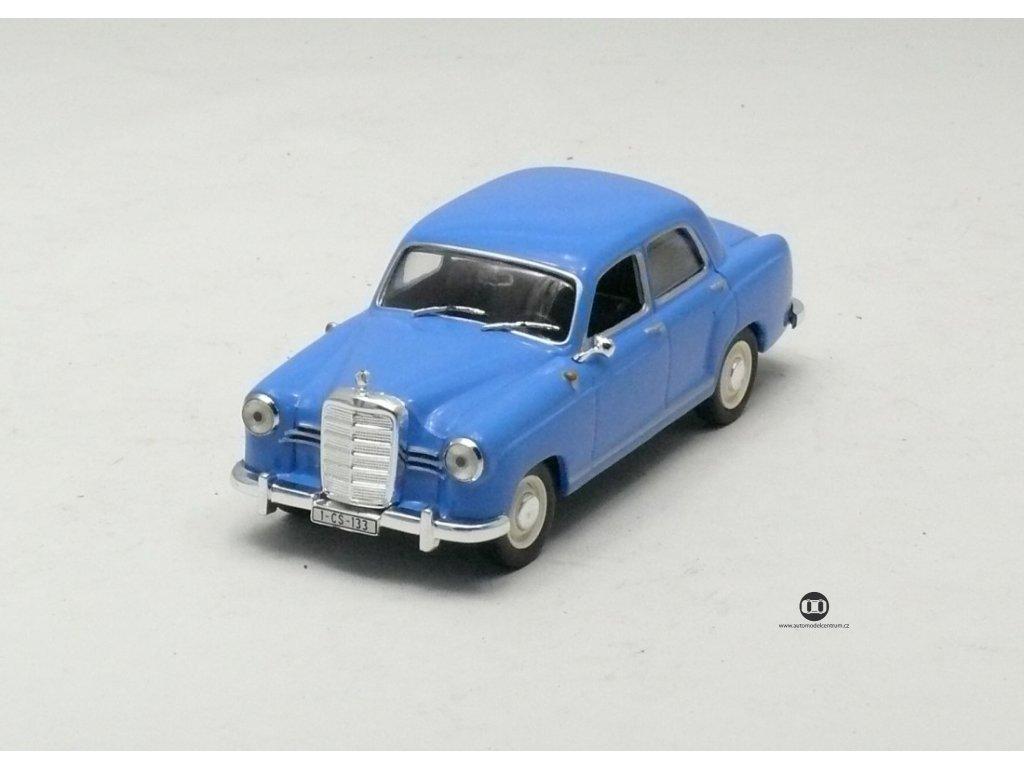 Mercedes-Benz 180 Ponton 1953 modrá 1:43 Magazine models