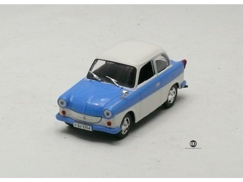 Trabant P50 Limousine 1959 modro-bílá 1:43 Magazine models