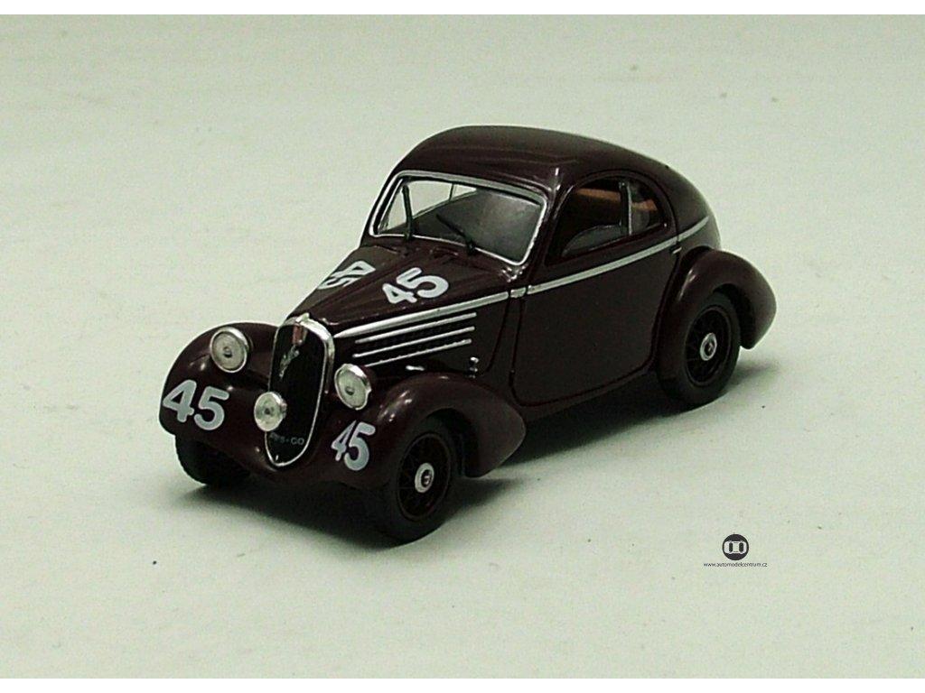 Fiat 508 Balilla Berlinetta 1936 hnědá 1:43 Car Selection