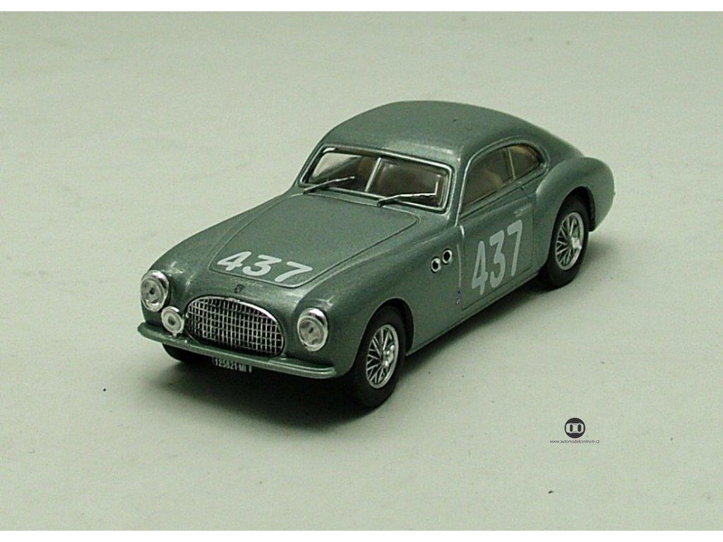 Cisitalia 202 1950 stříbrná 1:43 Car Selection