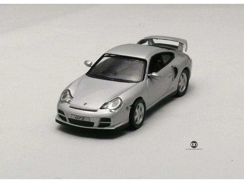 Porsche 911 GT2 2000 stříbrná 1:43 Collection 711