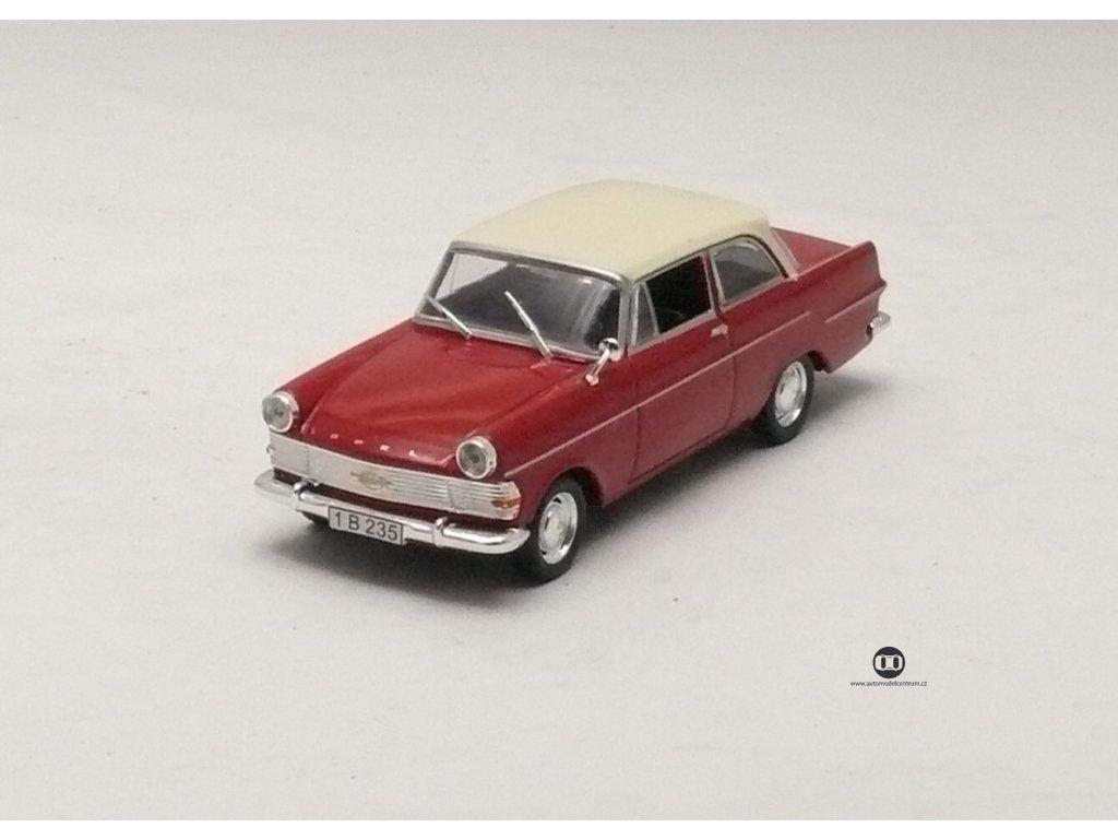 Opel Rekord P2 1962 červeno - béžová 1:43 Car Selection