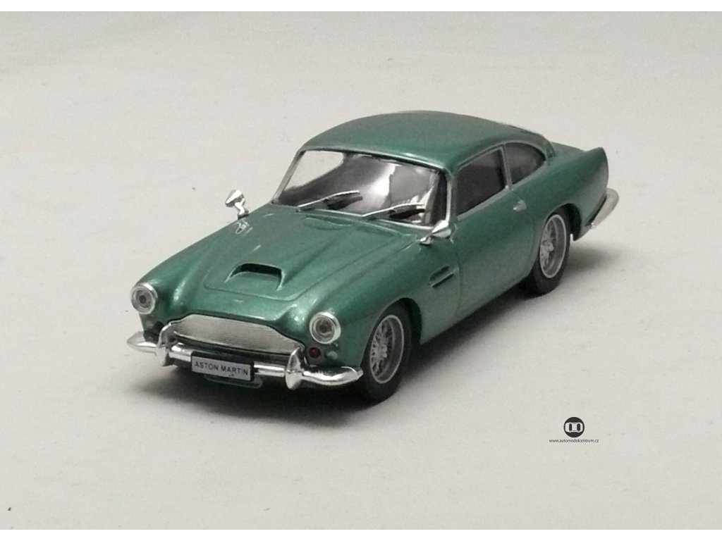 Aston Martin DB4 1957 - 1963 šedá metalíza 1:43 Car Selection