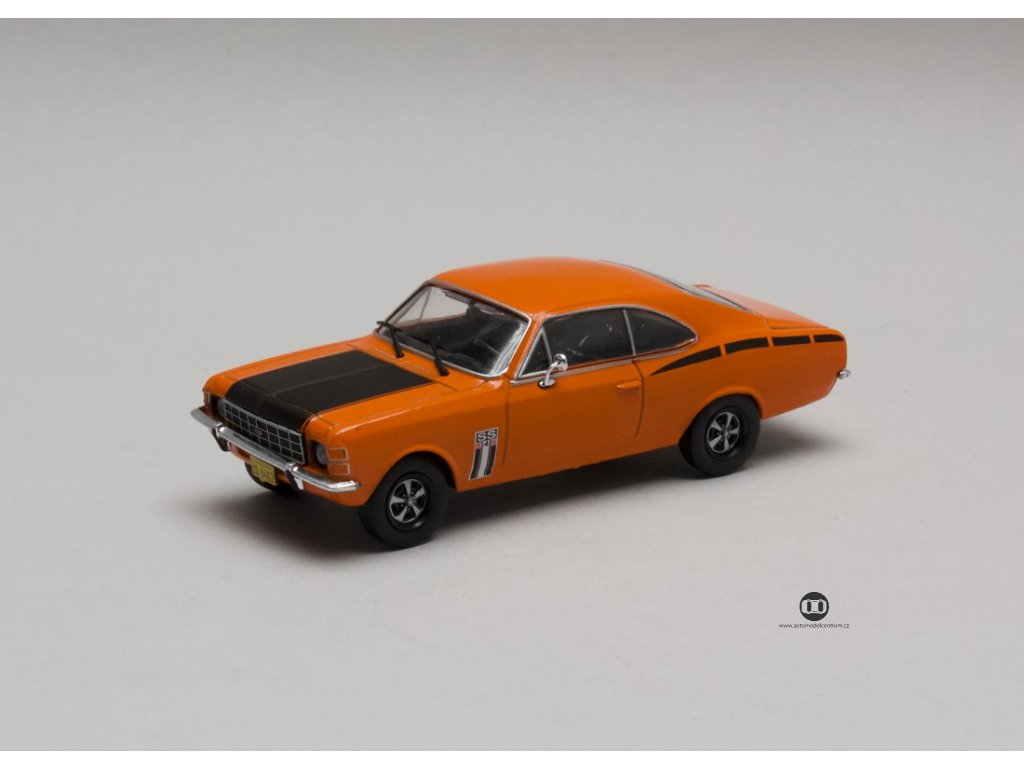 Chevrolet Opala SS-4cc 1975 Oranžovo-černá 1:43 Champion
