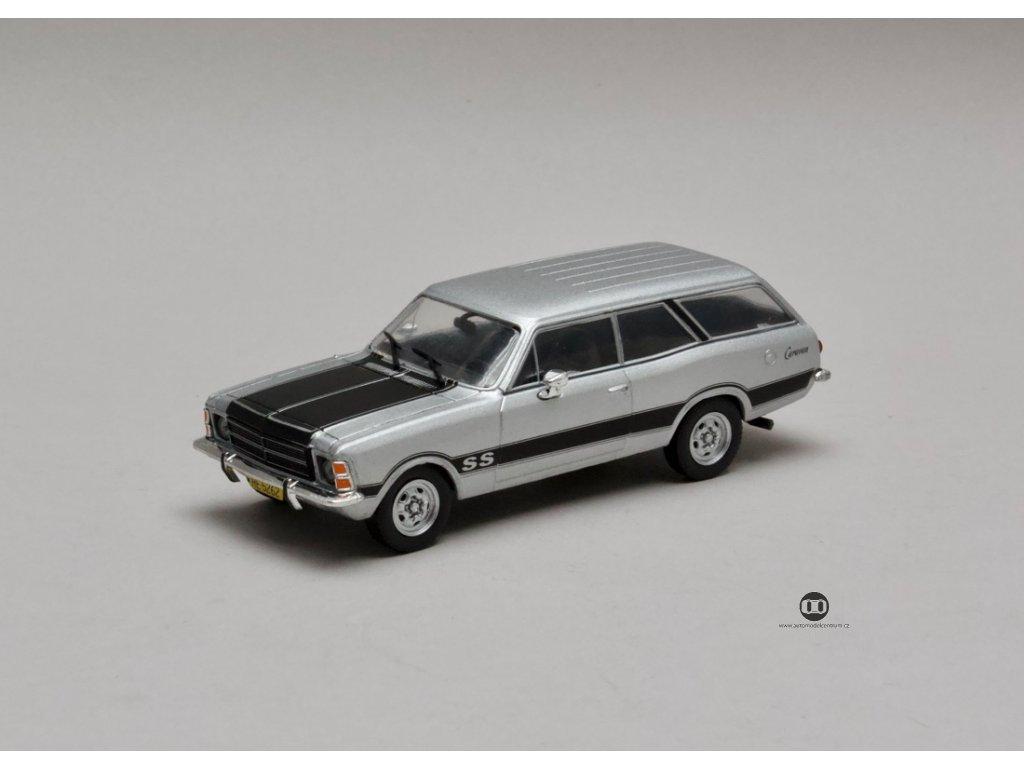 Chevrolet Opala SS 1979 Serie 2 Caravan stříbrná 1:43 Champion