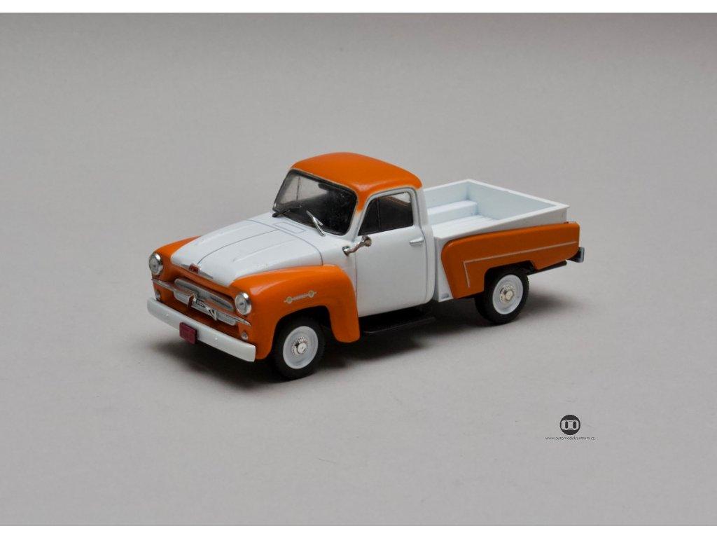 Chevrolet 3100 Brasil 1959 oranžovo-bílá 1:43 Champion
