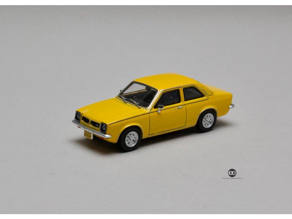 Chevrolet Chevette SL 1979 žlutá 1:43 Champion