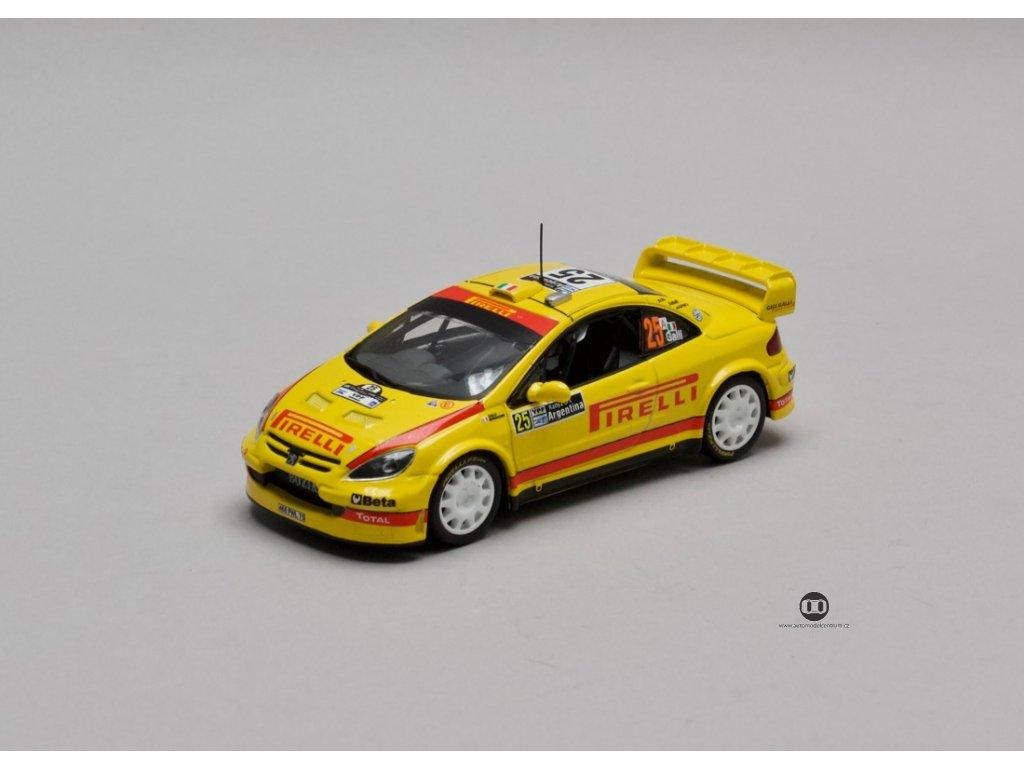 Peugeot 307 WRC # 25 Rally Argentina 2006 1:43 Champion