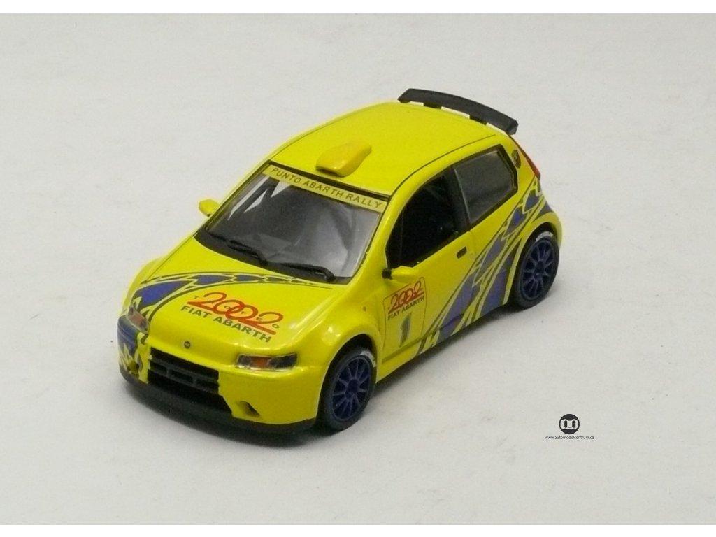 Fiat Punto Abarth 1600 Rally 2002 # 1 1:43 Magazine models