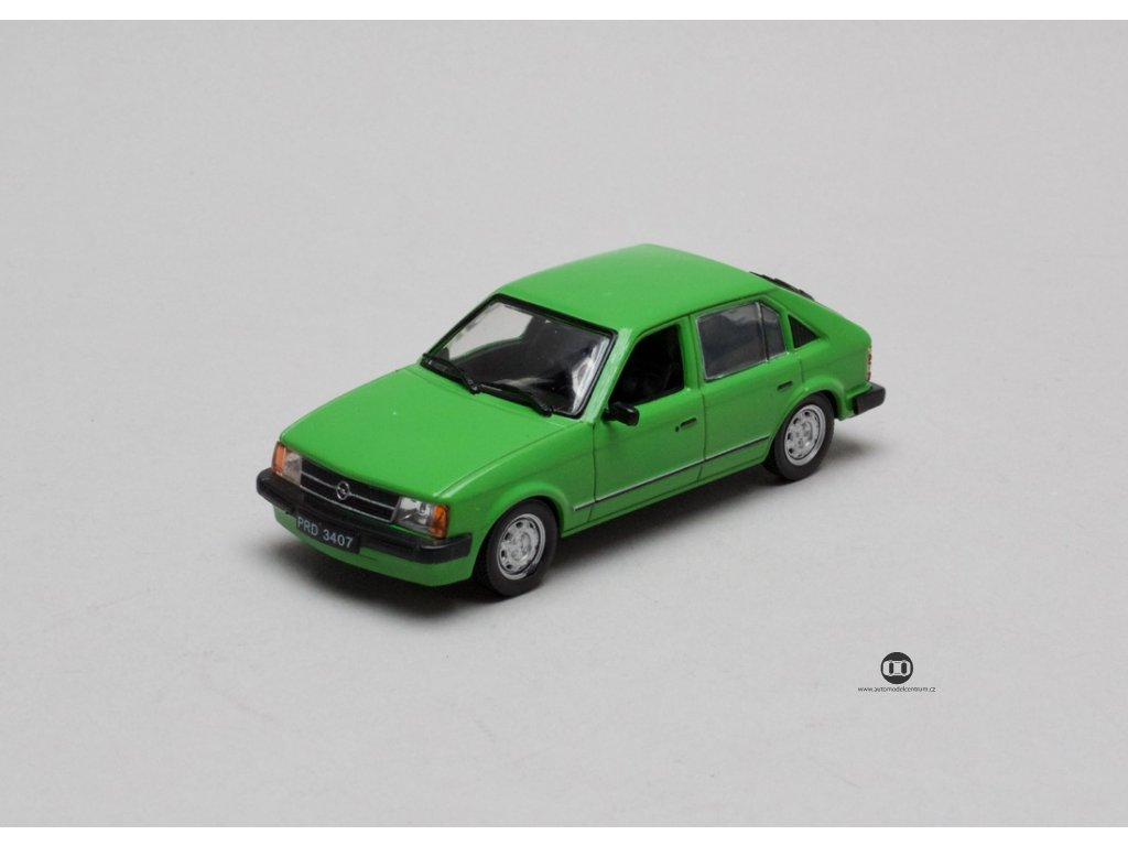 Opel Kadett D 1979-84 5dv zelená 1:43 Car Selection