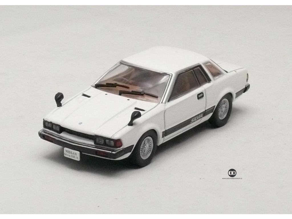 Nissan Silvia ZSE-X 1979 bílá 1:43 Norev