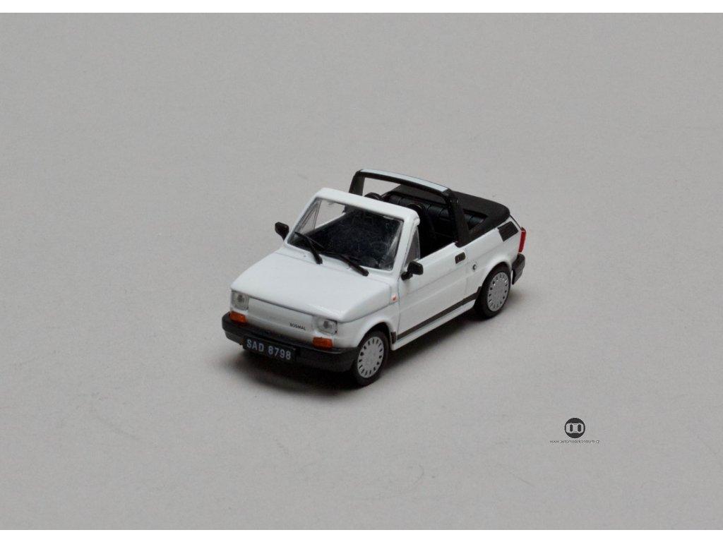 Fiat 126P Cabrio 1991-1995 bílá 1:43 Car Selection