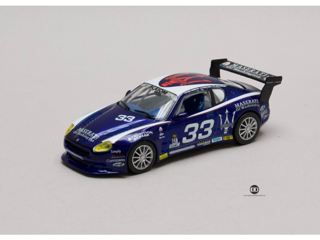 Maserati GranSport Trofeo Light #33 Grand-Am 2004 1:43 Leo Models