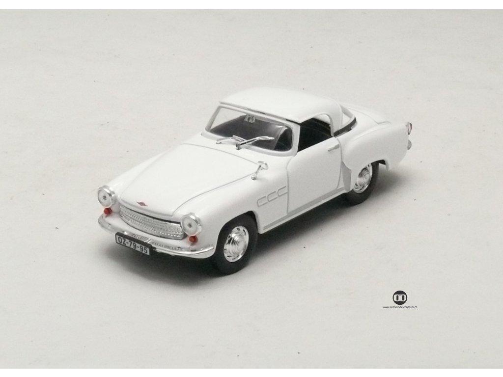 Wartburg 313 Sport bílá 1:43 Car Selection
