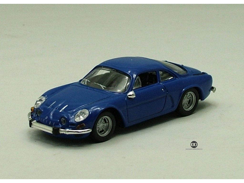Renault Alpine 1976 modrá 1:43 Car Selection