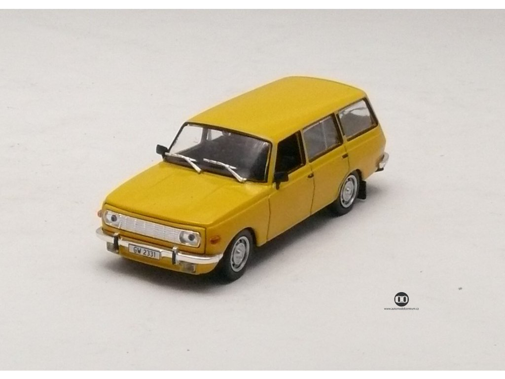 Wartburg 353 Tourist žlutá 1:43 Car Selection