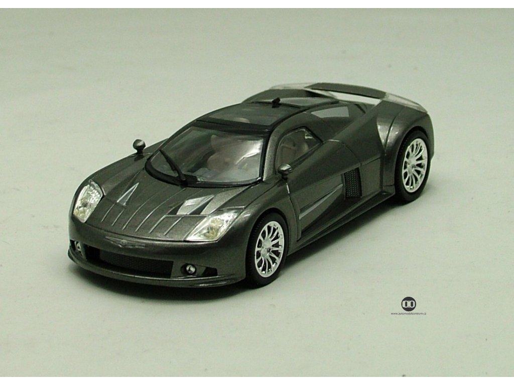Chrysler Me Four Tvelve Concept Car šedá 1:43 Norev