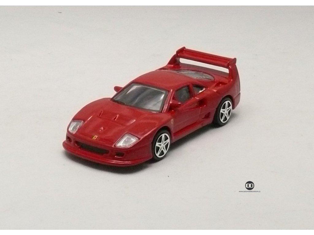 Ferrari F40 Competizione červená Race & Play 1:43 Bburago