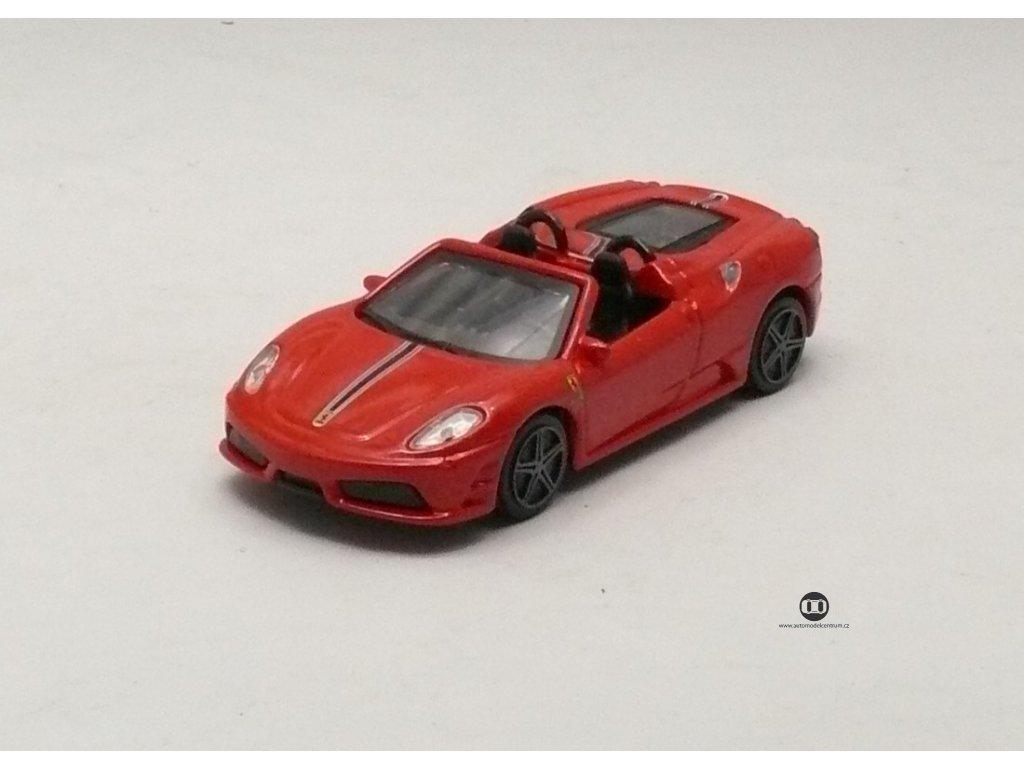Ferrari Scuderia Spider 16 M červená Race & Play 1:43 Bburago