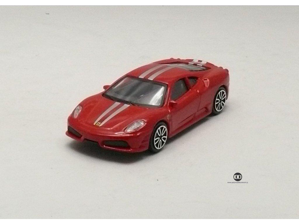 Ferrari 430 Scuderia červená Race & Play 1:43 Bburago