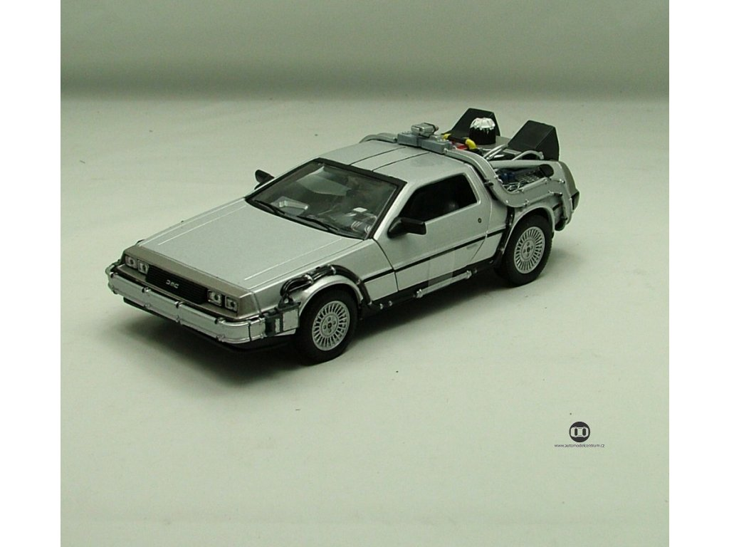 De Lorean 1983 Back To The Future I 1:24 Welly