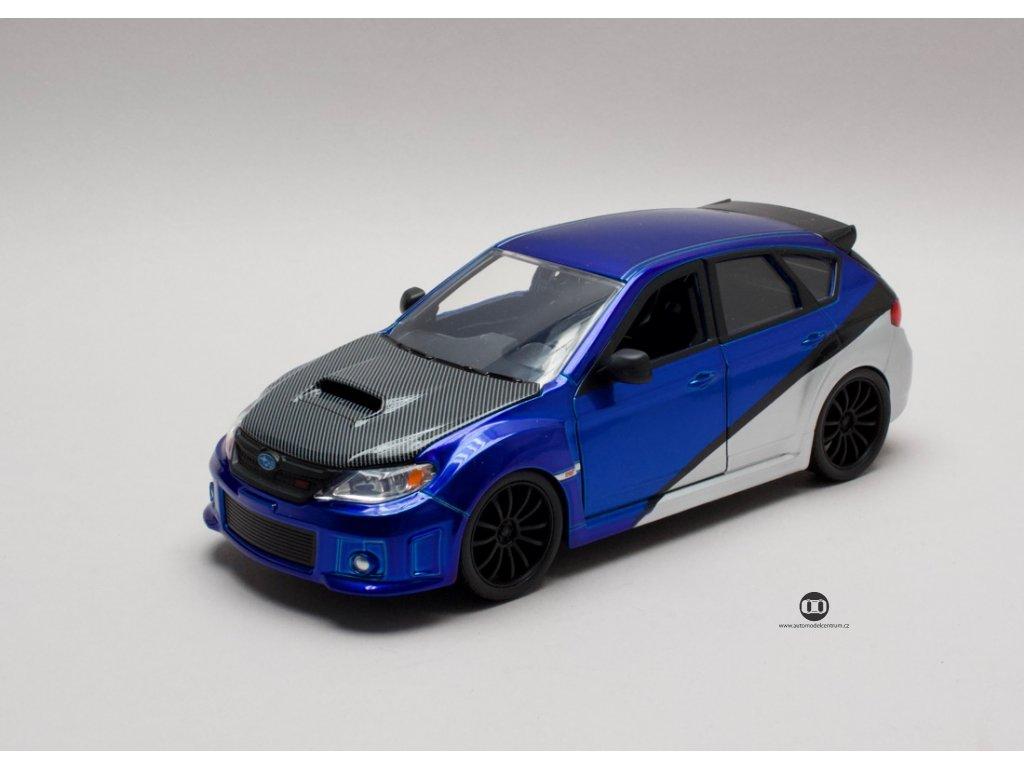 Subaru Impreza 2012 WRX Sti Brian`s Rychle a zb 1:24 Jada Toys