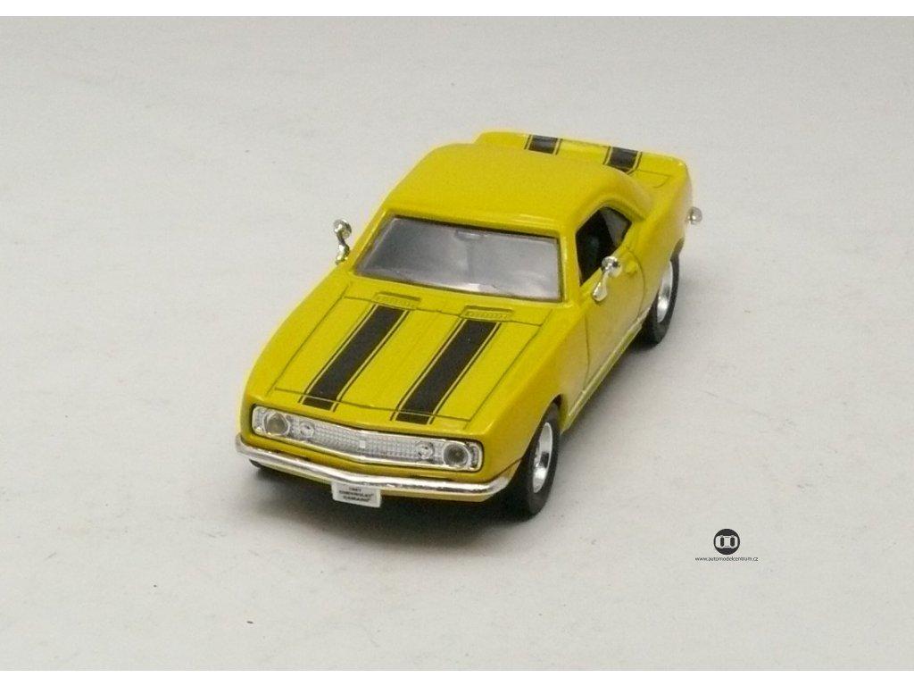 Chevrolet Camaro Z-28 1967 žlutá 1:43 Yat Ming