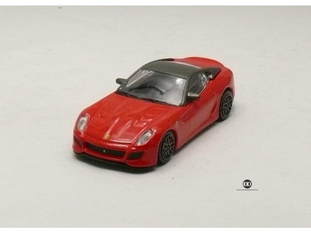 Ferrari 599 GTO červená Race & Play 1:43 Bburago