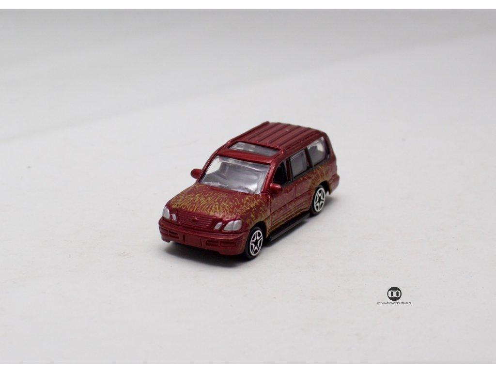 Toyota Landcruiser červená 1:64 Motor Max