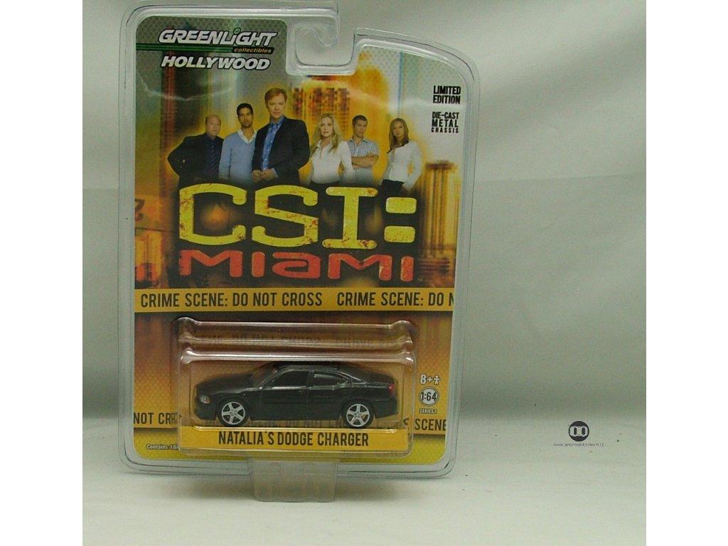 Dodge Charger 2008 - CSI Miami 2002-201 1:64 Greenlight