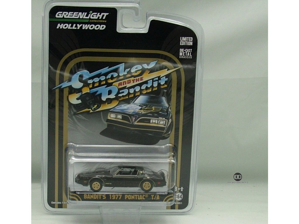 Pontiac Trans Am 1977 - Smokey and the bandit 1:64 Greenlight