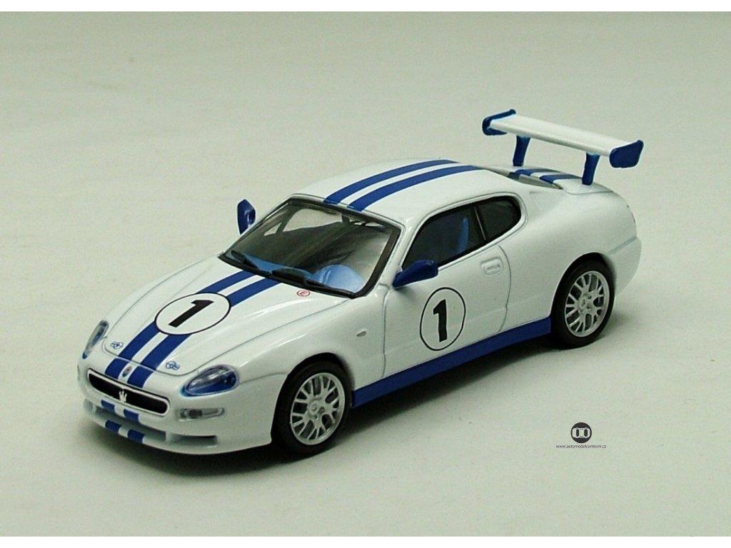 Maserati Trofeo 2002 č1 bílá 1:43 Car Selection
