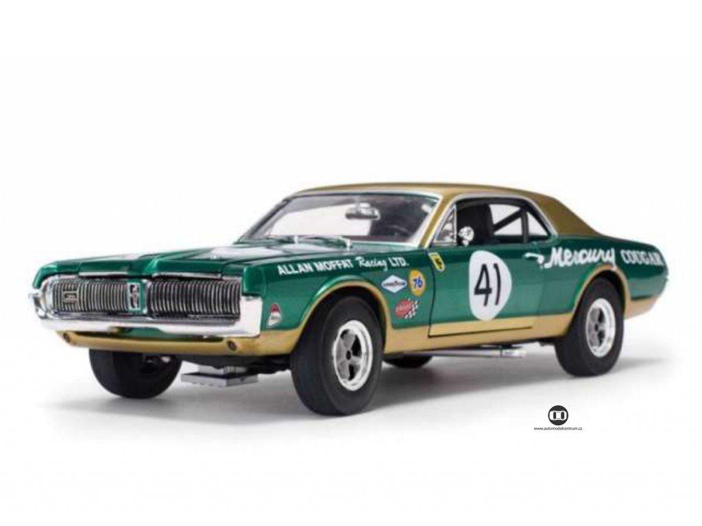Mercury Cougar Racing 1967 # 41 Allan Moffat 1:18 Sun Star