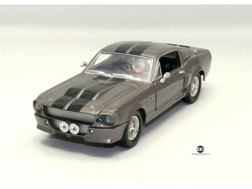 Ford Shelby Mustang GT500 1967 Eleanora z 60 vteřin 1:24 Greenlight
