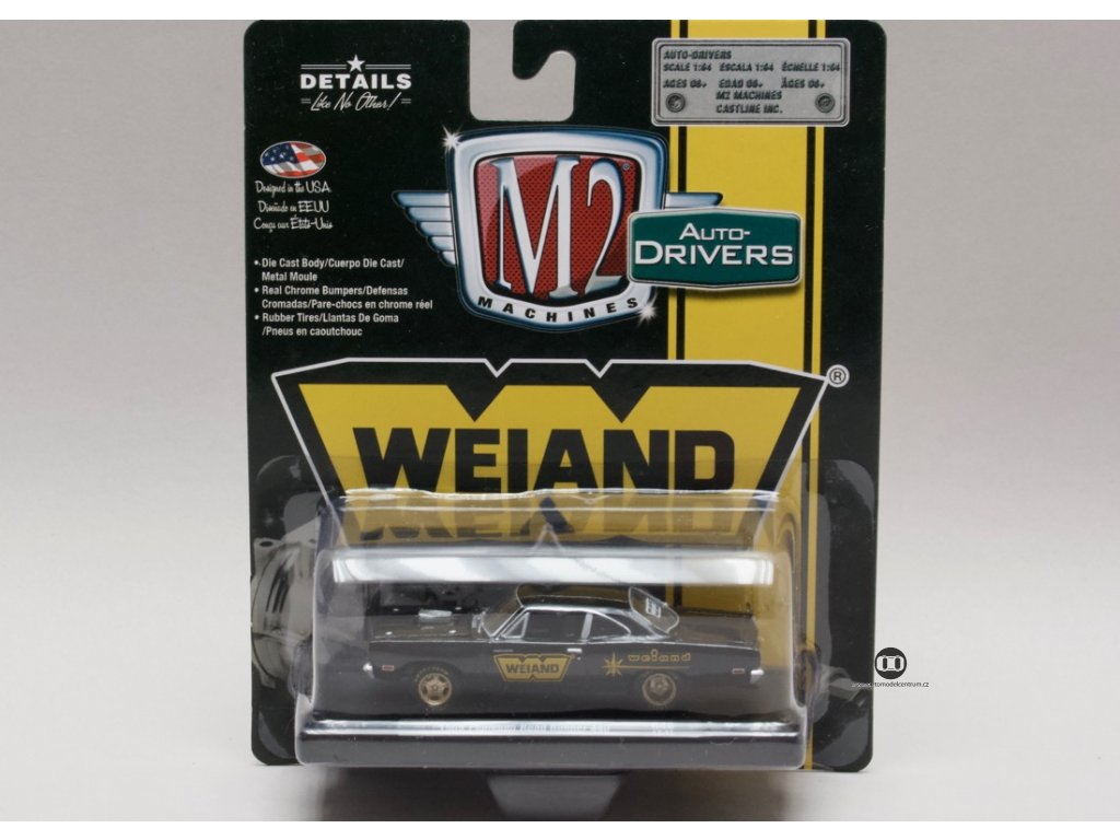 Plymouth Road Runner 1969 Weiand1:64 M2 Machines