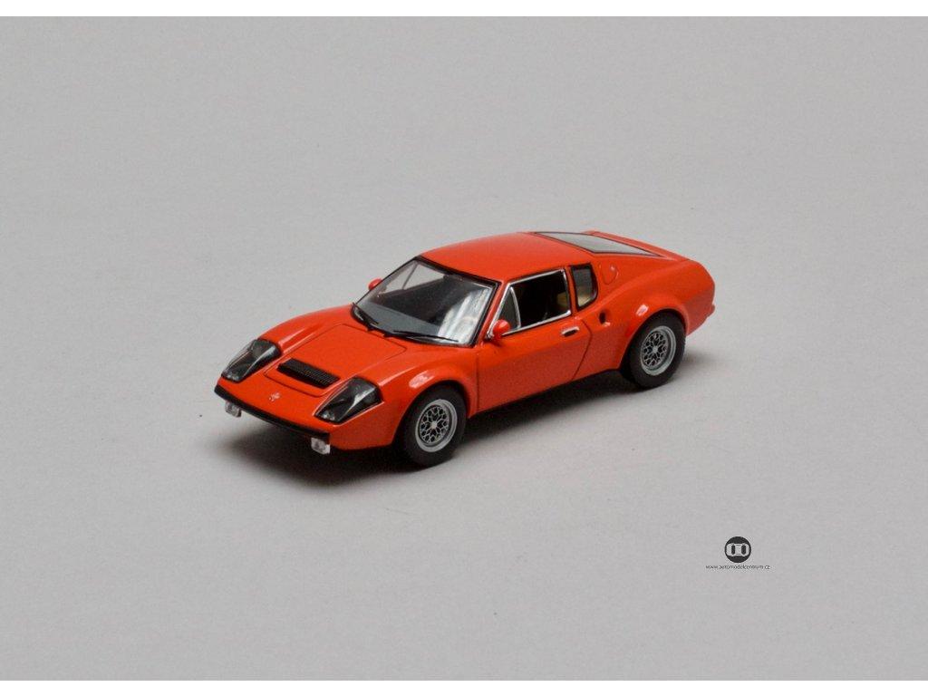 Ligier JS2 Coupe 1972 červená 1:43 IXO