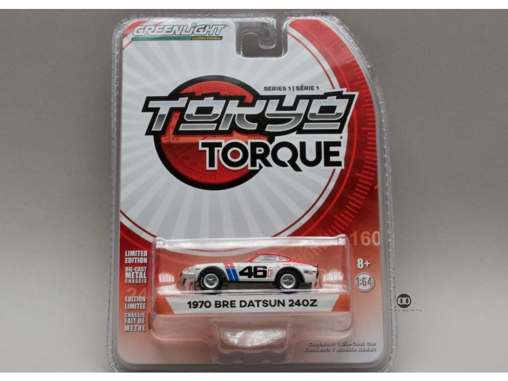 Datsun 240Z BRE 1970 #46 1:64 Greenlight