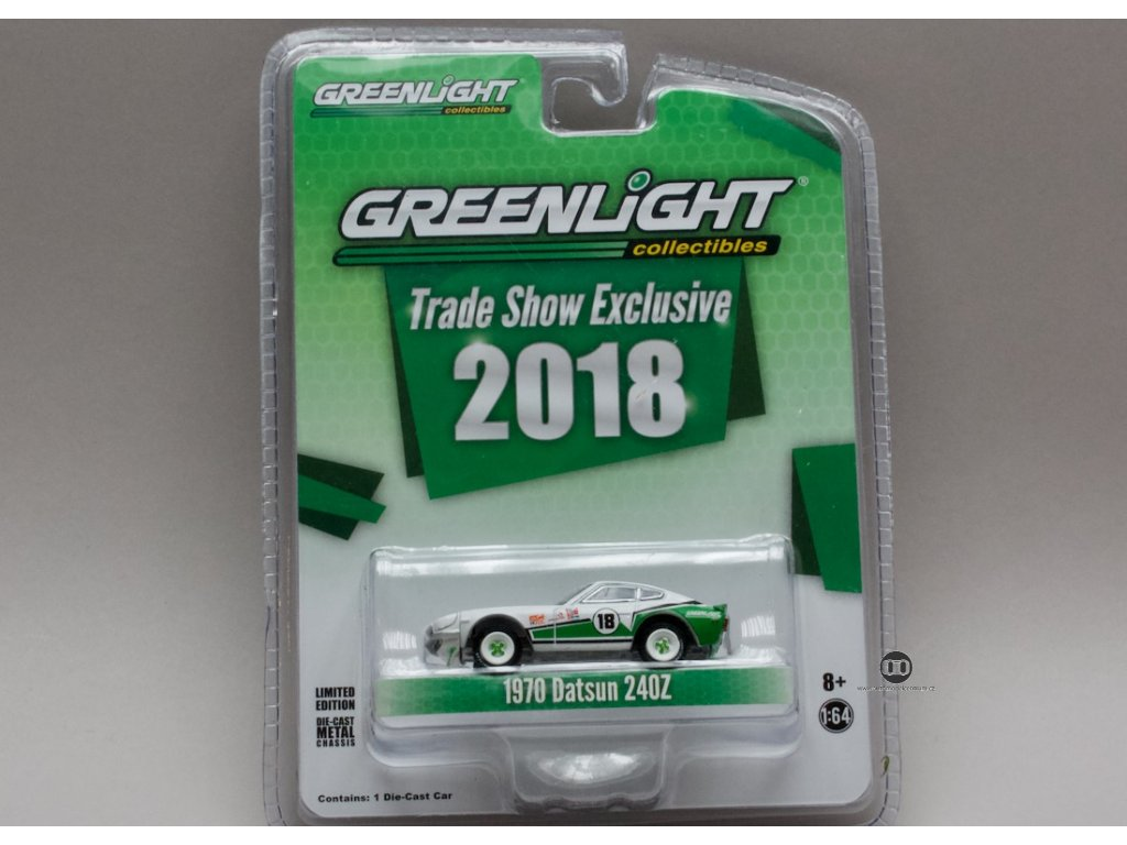 Datsun 240Z 1970 #18 1:64 Greenlight