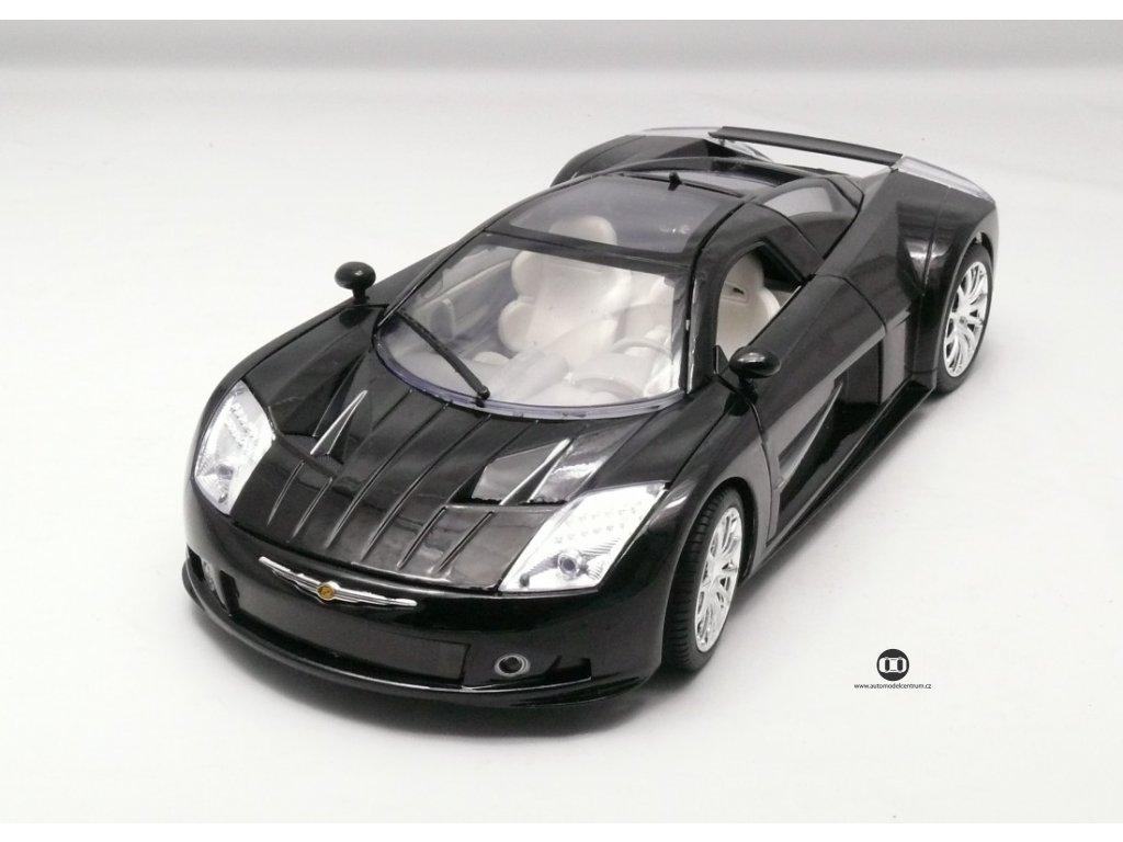 Chrysler Me Four Twelve Concept 2004 černá 1:18 Motor Max