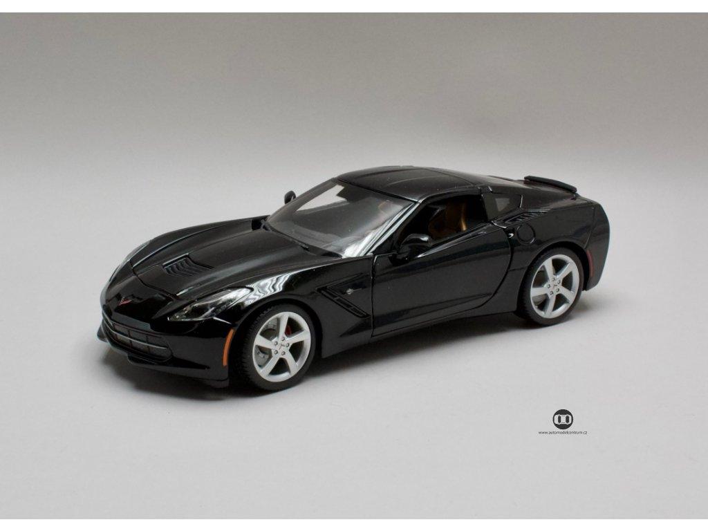 Chevrolet Corvette Stingray 2014 černá 1:18 Maisto