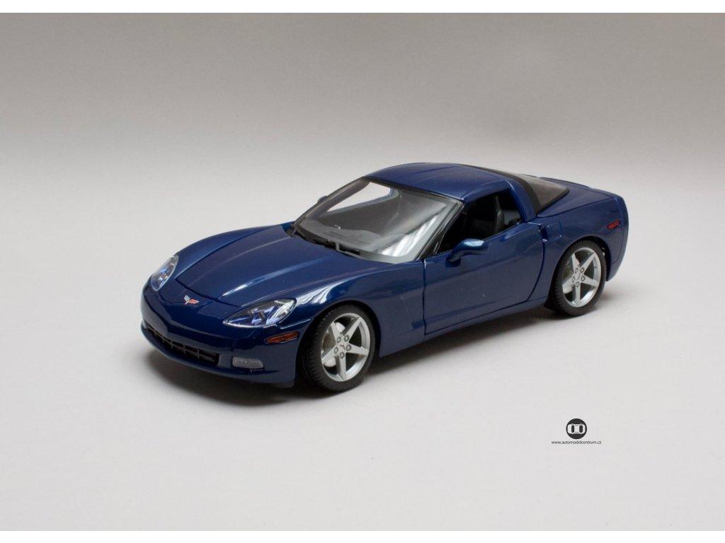 Chevrolet Corvette Coupe 2005 modrá 1:18 Maisto