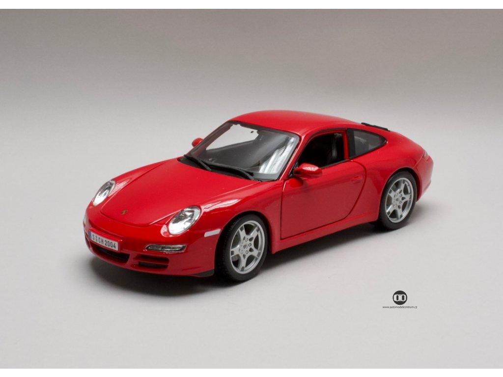 Porsche 911 Carrara S červená 1:18 Maisto
