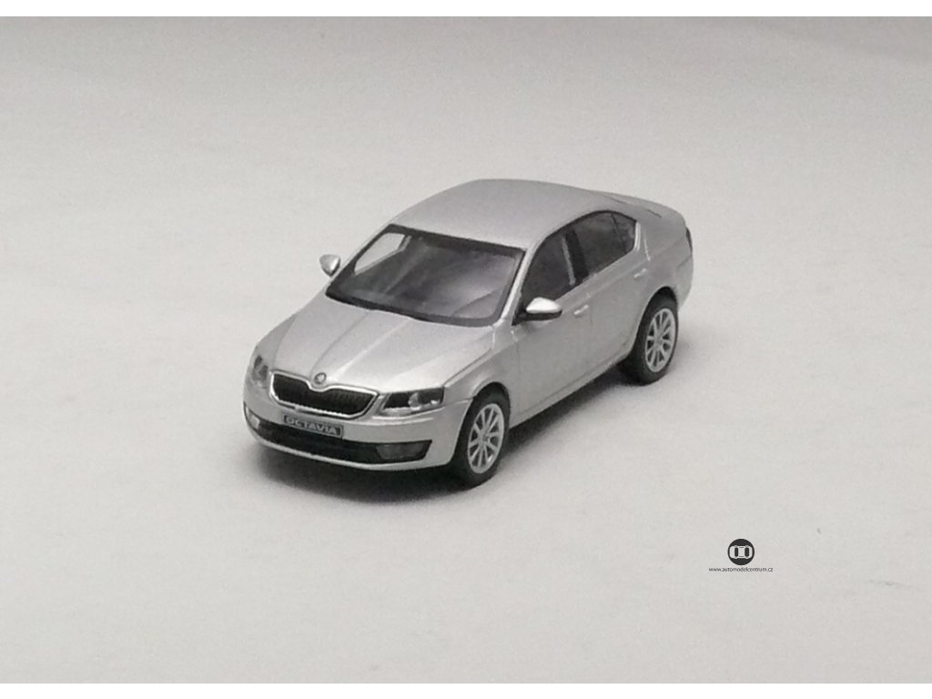 Škoda Octavia III A7 Ltb stříbrná 1:43 Abrex