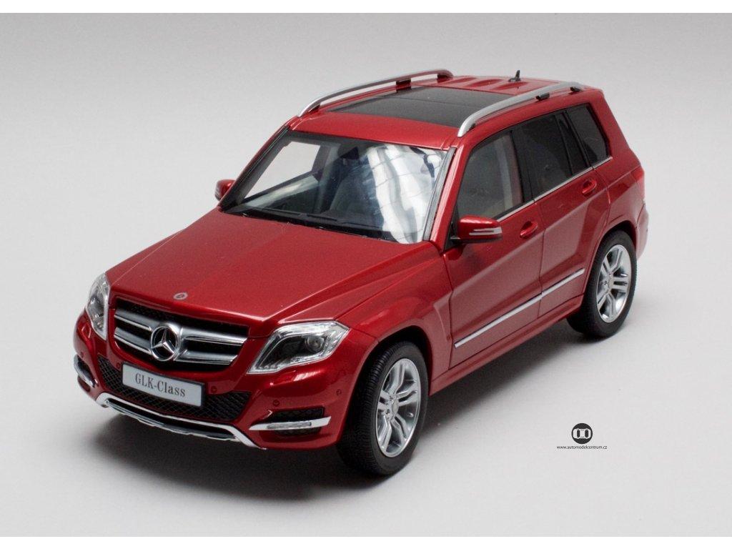 Mercedes-Benz GLK 2013 červená 1:18 GTA Welly