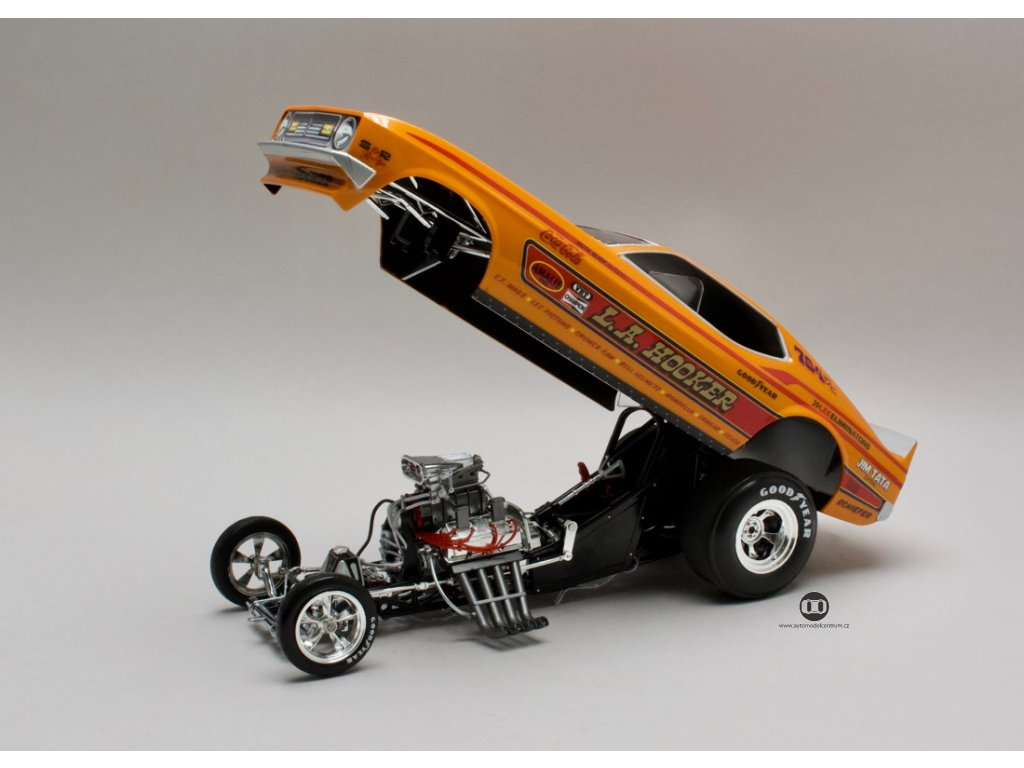 Ford Mustang NHRA 1971 L. A. Hooker Funny Car 1:18 Auto World