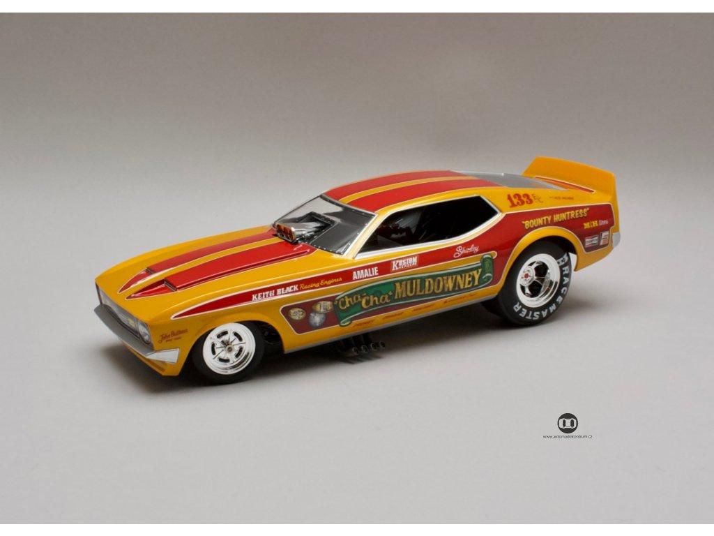 Ford Mustang NHRA 1972 Cha-Cha Muldowney Funny Car 1:18 Auto World