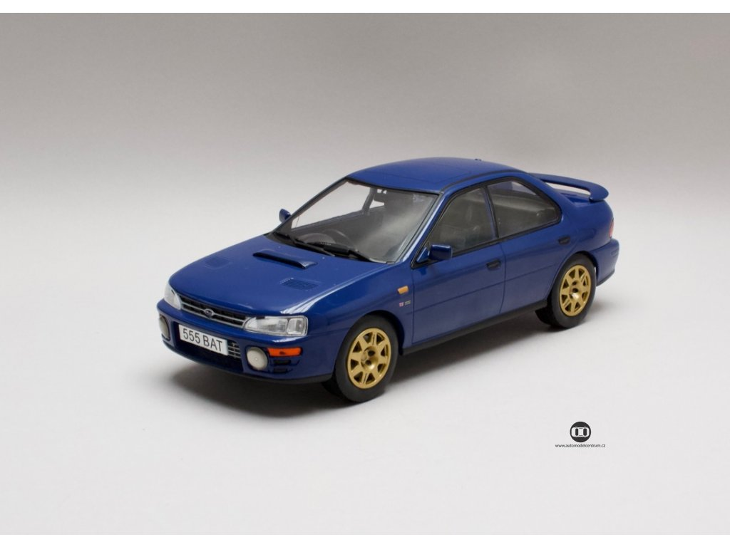 Subaru Impreza WRX 1995 RHD modrá 1:18 IXO