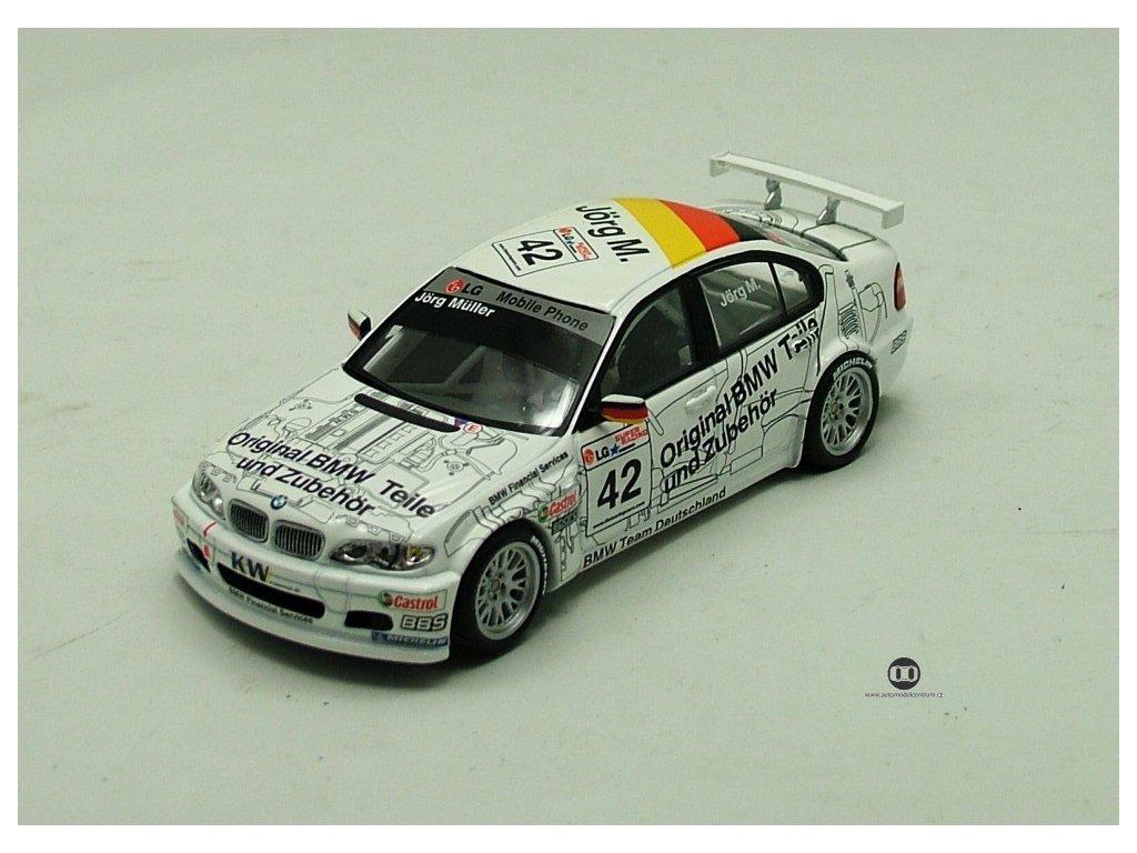 BMW 320i ETCC 2003 Magny Cours # 42 1:43 Minichamps