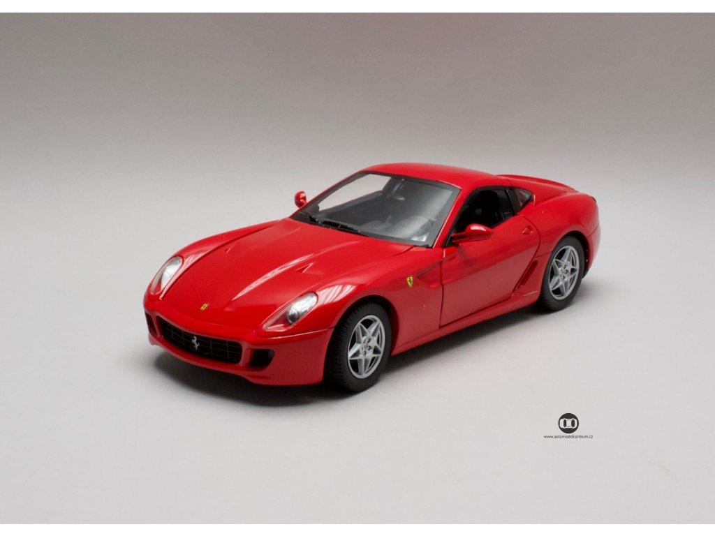 Ferrari 599 GTB 2006 Fiorano červená 1:18 Hotwheels